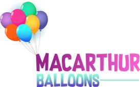 Macarthur Balloons Logo